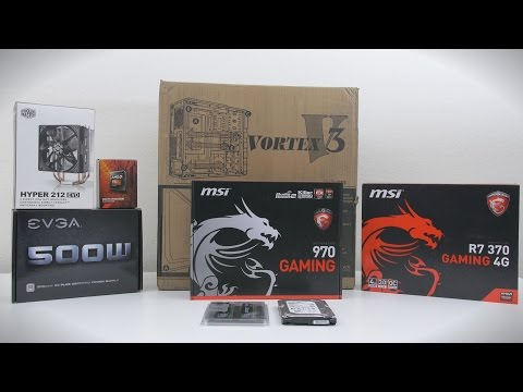 $550 Gaming PC - Time Lapse Build