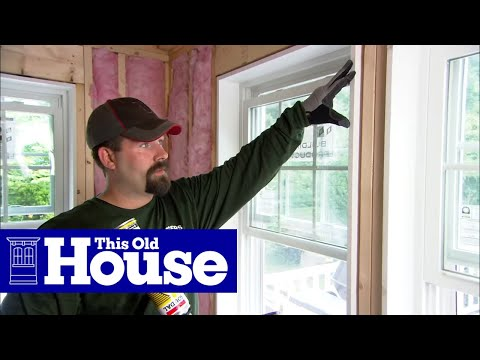 How to install fiberglass insulation this old house for Fiberglass well house