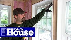 How to Install Fiberglass Insulation | This Old House