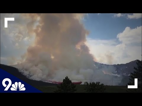 RAW: Wildfire in Colorado forces evacuations