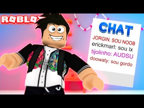 TROLEI O CHAT DO BBB - TROLLANDO COM ADMIN NO ROBLOX!!