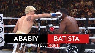 Nikita Ababiy vs Jonathan Batista | FULL FIGHT | KSI vs Logan Paul 2 Undercard 🥊