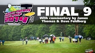 2014 disc golf japan open final 9 wysocki locastro mcbeth feldberg