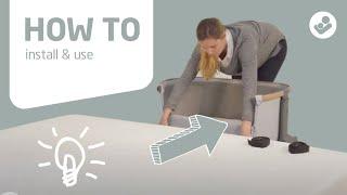 Видео: Приставная кроватка Maxi-Cosi Iora