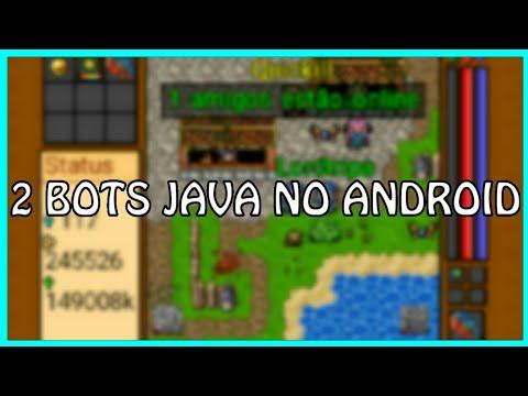 TENHA AGORA BOT NO SEU CELULAR E PASSE NA FRENTE DE TODOS / Tibia-ME BOT-2x Emulador Java J2ME