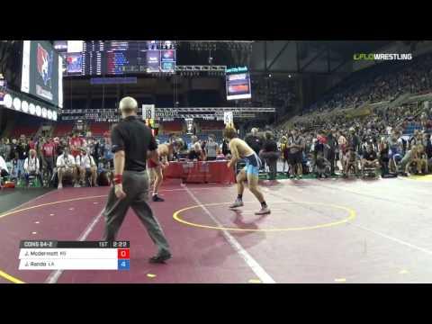 Junior FS 160 Cons 64-2 - Jensen Mcdermott (KS) vs. Jake Rando (LA)
