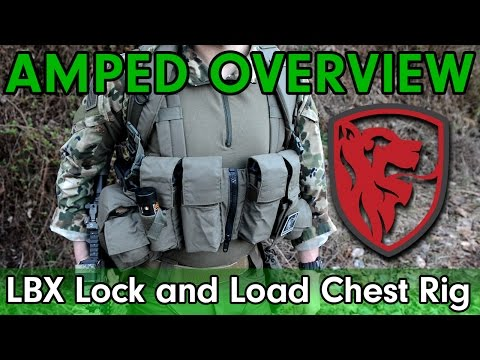 Amped Overview - LBX Lock and Load Chest rig - The most underrated chest rig?