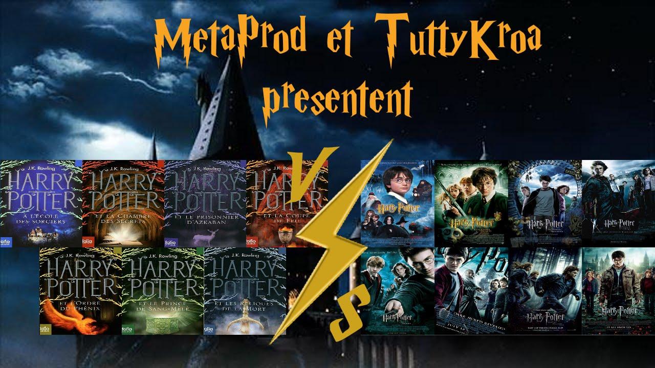 Metalu Hors Serie 2 Harry Potter Films Vs Livres