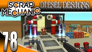 Scrap Mechanic Gameplay :EP78: John Cena Theme Music, Smashing tables, and MORE! (Let