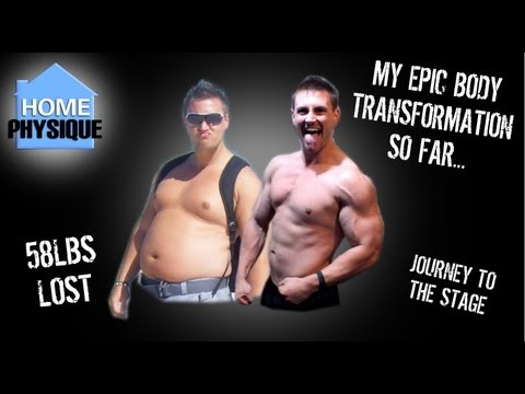 How Stephen Went from Inactive to Bodybuilder