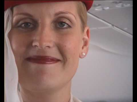 Emirates A-380: Space, Luxury and the Beauty of the Crew I