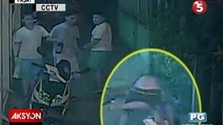 Sapul sa CCTV | Tanod, nanaksak matapos mailawan habang umiihi sa pader