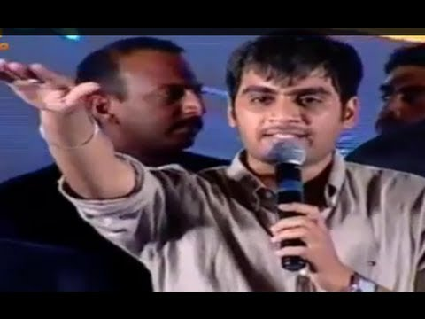Director Sujeeth 'The Actual' Speech @ Run Raja Run Audio Launch - Sharwanand, Seerat Kapoor