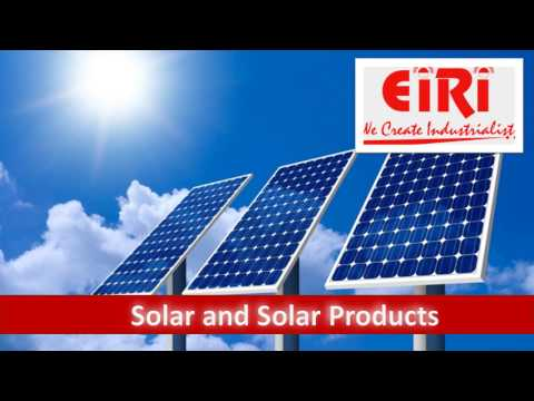 Solar and Solar Products Industry