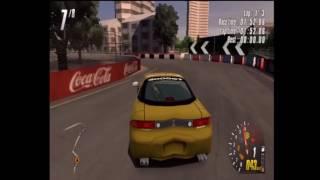 ToCA Race Driver 2 (PS2) - Standard Races - Online Gameplay