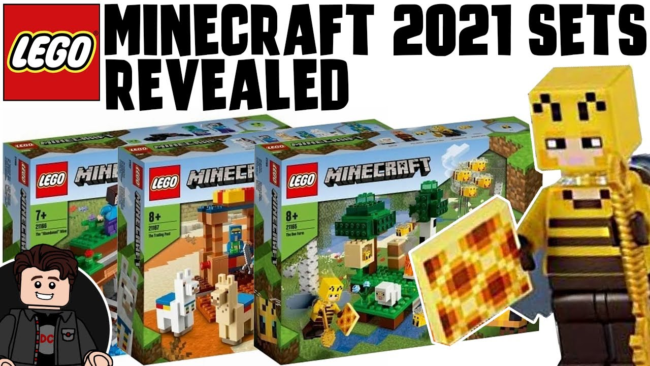 LEGO Minecraft 8 Sets Revealed  The Bee Farm  The Villager Post & More!