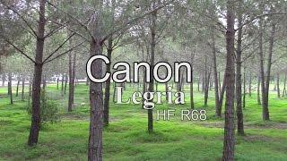 canon Legria HF R68  test video