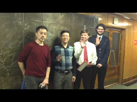 City tour to Murmansk video. Tourists from Chine