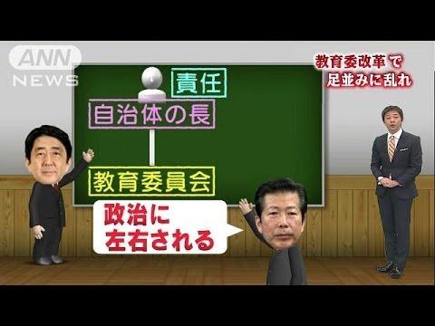 「教育委員会改革」与党内で足並みに乱れが(14/02/06)
