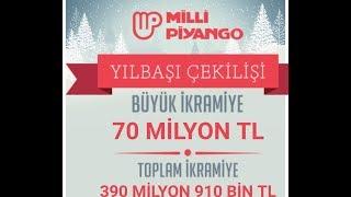 Milli Piyango sonuçları açıklandı..2019 Milli Piyango bilet sorgulama  70 MİLYONLUK BÜYÜK İKRAMİYE
