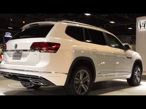 New 2018 Volkswagen Atlas Crossover Sport Suv Inter