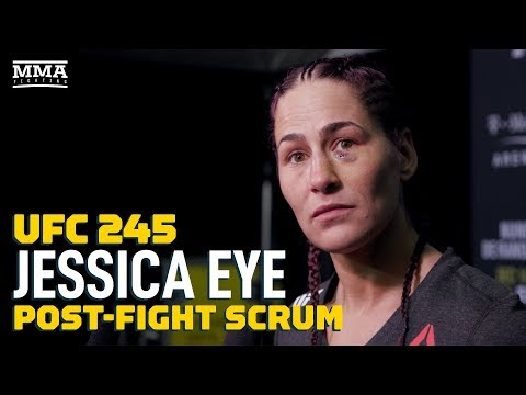 Jessica Eye Explains UFC 245 Weight Miss, Blasts Sijara Eubanks - MMA Fighting