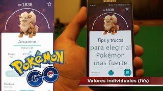 Pokémon GO - Cómo saber qué Pokémon es más fuerte y cuál evolucionar (IVs) Tips y trucos