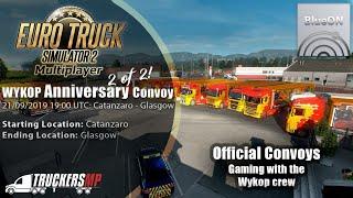 Euro Truck Simulator 2 - Anniversary Convoy WYKOP.PL   BlueON