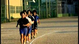 Clip8921世羅高校陸上部早朝練習