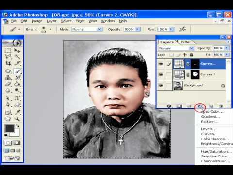 Photoshop CS2 - Phần 5 - Bài 4b - Phục chế ảnh 2