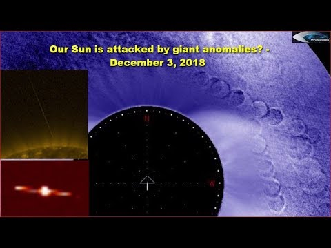 nouvel ordre mondial | Our Sun is attacked by giant anomalies? - December 3, 2018
