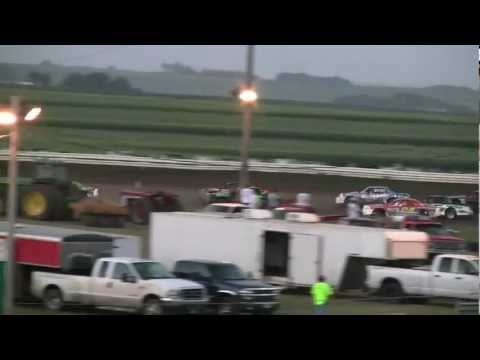07-17-12 Stock Car Feature @ Sioux Speedway 1