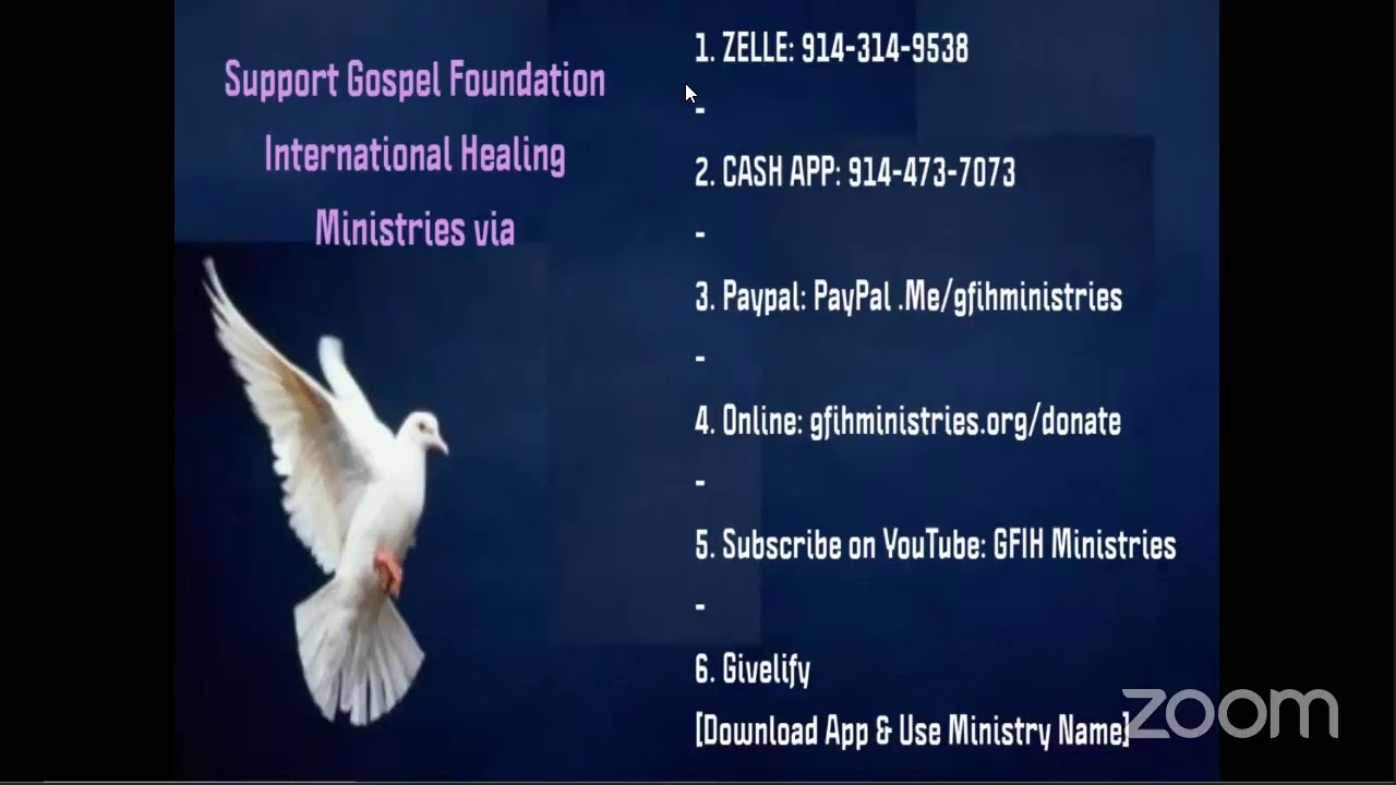 Gospel Foundation International Healing Ministries