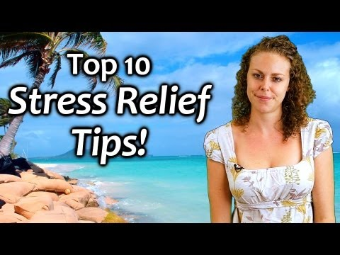 Top 10 Stress Relief Tips | How to Manage Stress for Health & Calm, Relaxing Music, Mind & Body