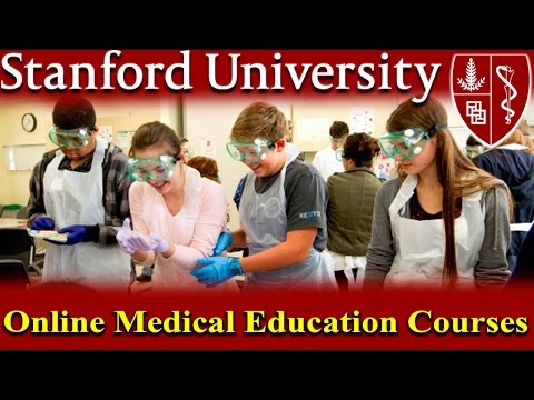 Stanford University Online Education Courses - Continuing Medical information