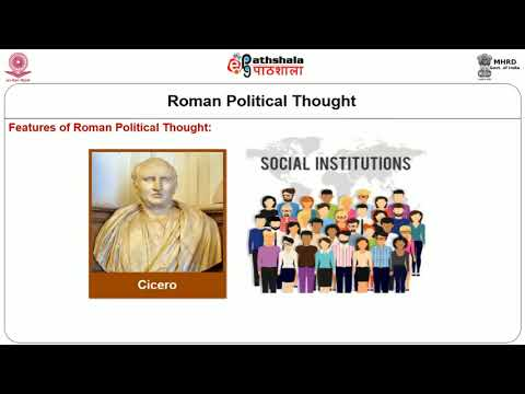 Roman Political Thought Roman Law and Cicero