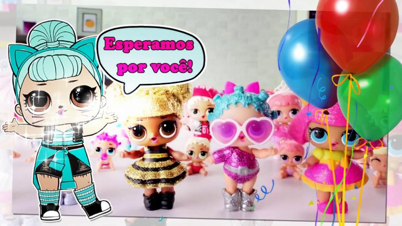 Convite Animado Lol Surprise 2 Modelo