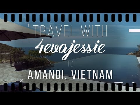 Vlog 4 || A Luxury Weekend Getaway with Amanoi in Vietnam