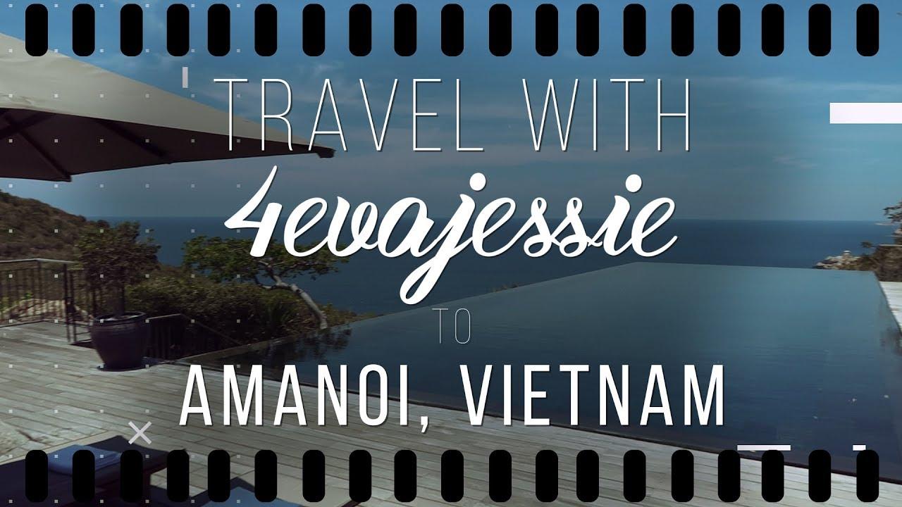 Vlog 4 || A Luxury Weekend Getaway with Amanoi in Vietnam
