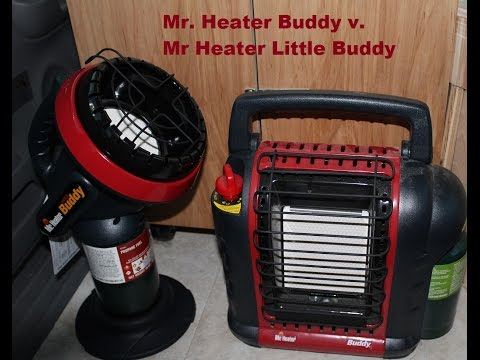 MyMiniCamperVan: Mr. Heater Buddy vs Mr. Heater Little Buddy