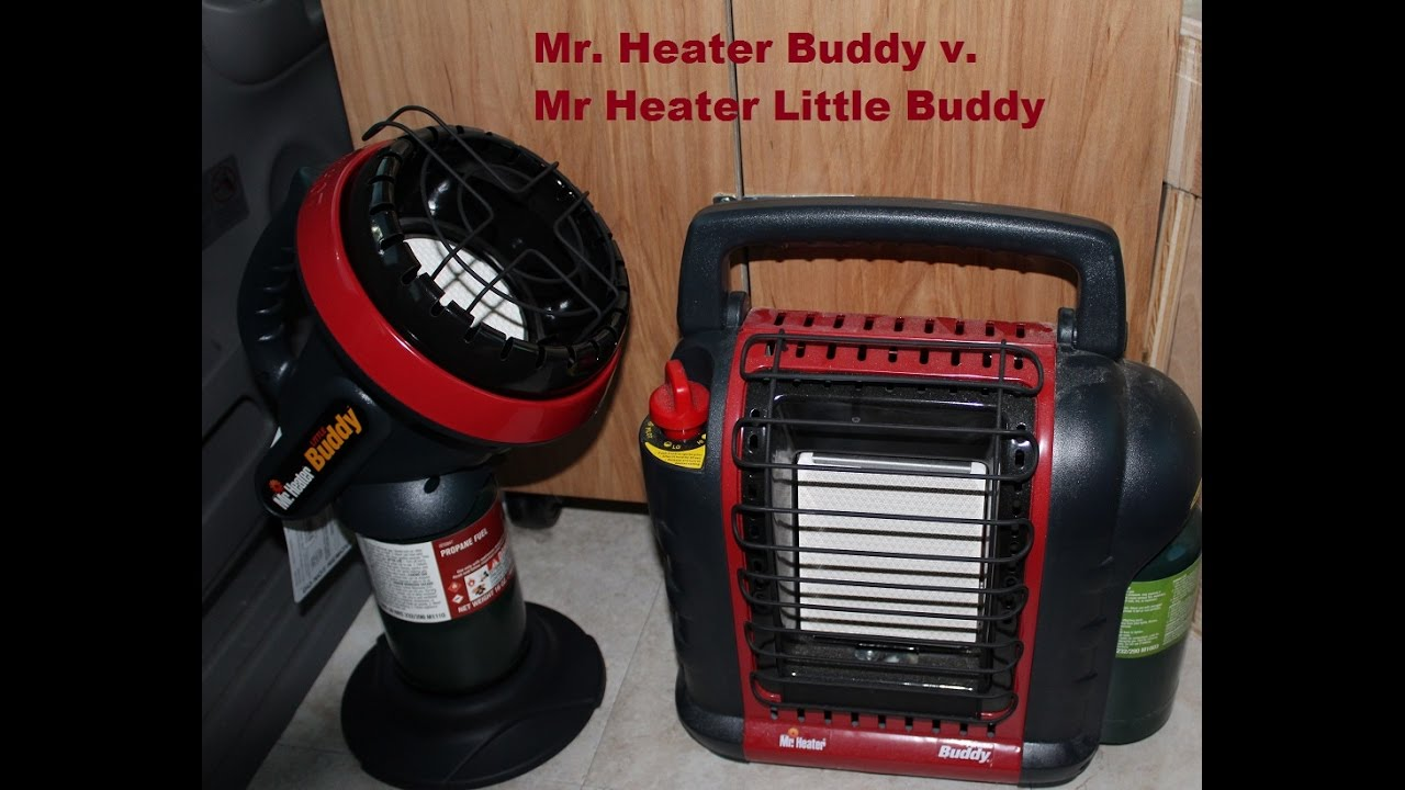 & MyMiniCamperVan: Mr. Heater Buddy vs Mr. Heater Little Buddy - YouTube