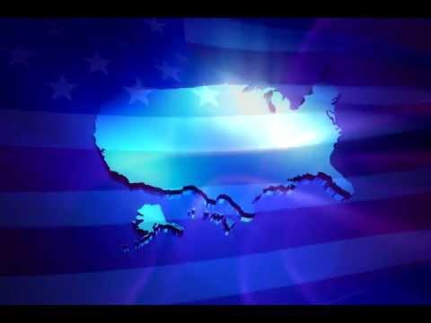 united states flag !!!!!3D Animation good work !!!!!