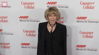 Susan Blakely makes a statement at Movies For Grownups Awards