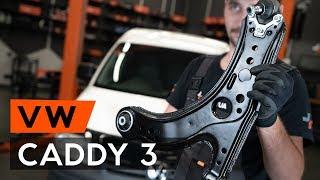 Kā nomainīt priekšējās svira VW CADDY 3 (2KB) [PAMĀCĪBA AUTODOC]