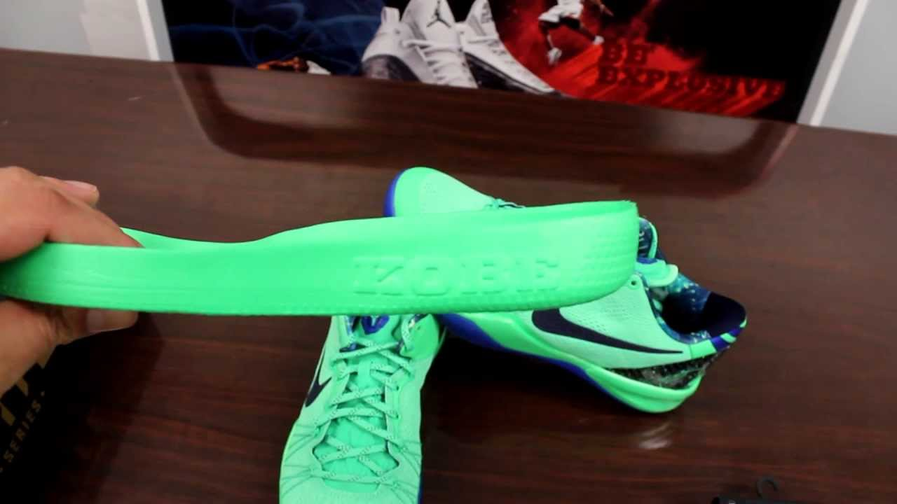 timeless design 7cc36 229e9 Nike Kobe 8 System Elite Superhero Review - YouTube