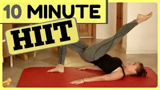 10 Min Calorie Buring HIIT Cardio Workout to do at Home
