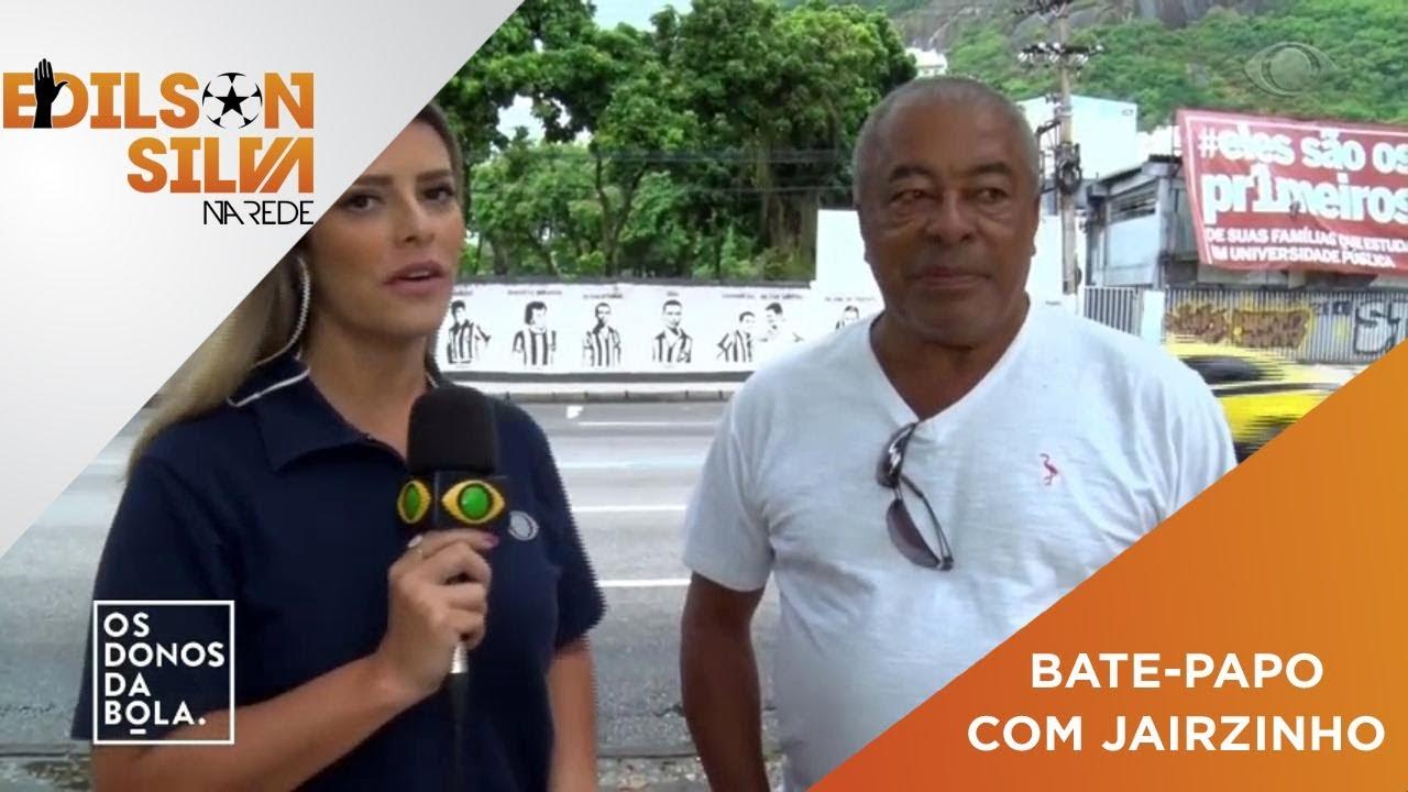 Papo exclusivo com Jairzinho: O Botafogo tem que voltar a ser o maior do  Brasil - YouTube