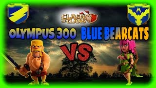 WAR RECAP : OLYMPUS 300 VS BLUE BEARCATS    TH8 & TH9 3 STAR WAR ATTACK STRATEGIES    CLASH OF CLANS