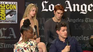 Interview: Riverdale Cast - SDCC 2017 - LA Times