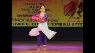 Kathak live performance- Taal Dhamar